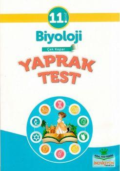 İnovasyon Yayıncılık 11. Sınıf Biyoloji Çek Kopar Yaprak test