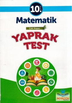 İnovasyon Yayıncılık 10. Sınıf Matematik Çek Kopar Yaprak Test