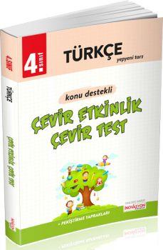 İnovasyon Yayıncılık 4. Sınıf Türkçe Çevir Etkinlik Çevir Test
