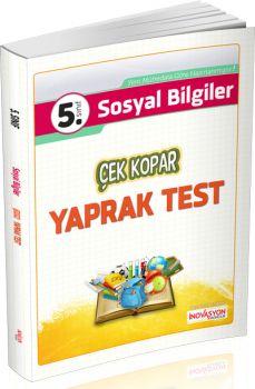 İnovasyon Yayıncılık 5. Sınıf Sosyal Bilgiler Çek Kopar Yaprak Test