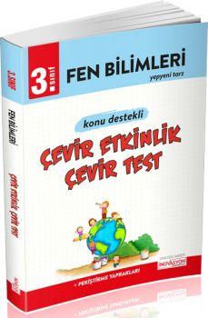 İnovasyon Yayıncılık 3. Sınıf Fen Bilimleri Çevir Etkinlik Çevir Test