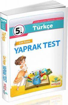 İnovasyon Yayıncılık 5. Sınıf Türkçe Çek Kopar Yaprak Test