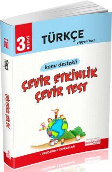 İnovasyon Yayıncılık 3. Sınıf Türkçe Çevir Etkinlik Çevir Test