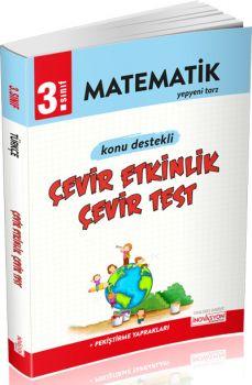 İnovasyon Yayıncılık 3. Sınıf Matematik Çevir Etkinlik Çevir Test