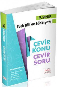 İnovasyon Yayıncılık 9. Sınıf Türk Dili ve Edebiyatı Çevir Konu Çevir Soru