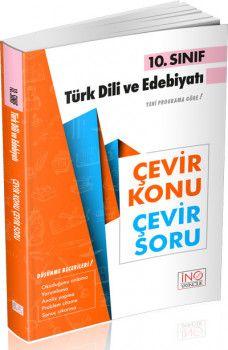 İnovasyon Yayıncılık 10. SınıfTürk Dili ve Edebiyatı Çevir Konu Çevir Soru