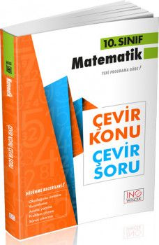 İnovasyon Yayıncılık 10. Sınıf Matematik Çevir Konu Çevir Soru