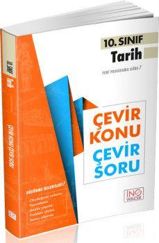 İnovasyon Yayıncılık 10. Sınıf Tarih Çevir Konu Çevir Soru