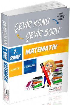 İnovasyon Yayıncılık 7. Sınıf Matematik Çevir Konu Çevir Soru