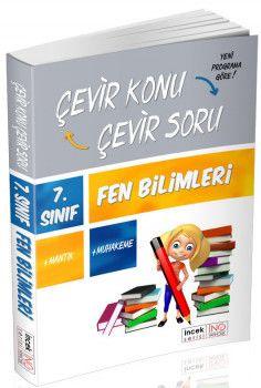 İnovasyon Yayıncılık 7. Sınıf Fen Bilimleri Çevir Konu Çevir Soru