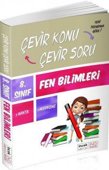 İnovasyon Yayıncılık 8. Sınıf Fen Bilimleri Çevir Konu Çevir Soru