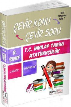 İnovasyon Yayıncılık 8. Sınıf İnkılap Tarihi ve Atatürkçülük Çevir Konu Çevir Soru