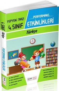 İnovasyon Yayıncılık 4. Sınıf Türkçe Performans Etkinlikleri