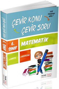 İnovasyon Yayıncılık 6. Sınıf Matematik Çevir Konu Çevir Soru