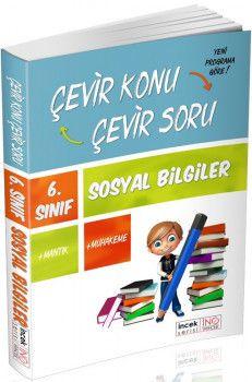 İnovasyon Yayıncılık 6. Sınıf Sosyal Bilgiler Çevir Konu Çevir Soru