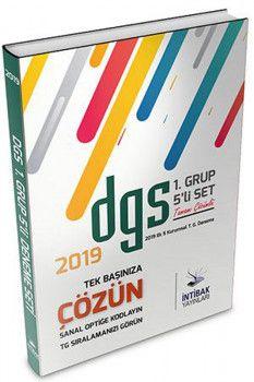 İntibak Yayınları 2019 DGS 1. Grup 5 li Set