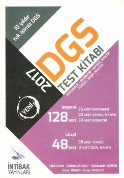 İntibak Yayınları 2017 DGS Sayısal Sözel Test Kitabı