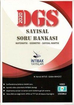 İntibak Yayınları 2020 DGS Sayısal Soru Bankası