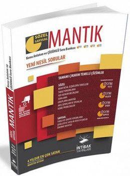İntibak Yayınları KPSS DGS ALES TYT Sözel Sayısal Mantık Konu Anlatım ve Çözümlü Soru Bankası