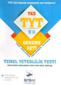 İntibak Yayınları YKS 1. Oturum TYT 5 li Deneme Seti
