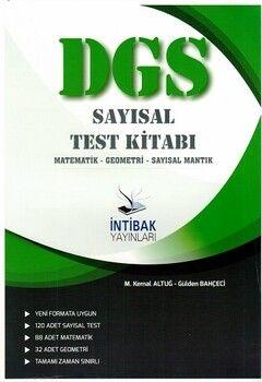 İntibak Yayınları DGS Sayısal Test Kitabı