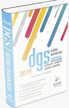 İntibak Yayınları 2019 DGS Sayısal Soru Bankası