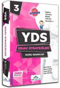 İrem Yayıncılık YDS Sınav Stratejileri Soru Bankası