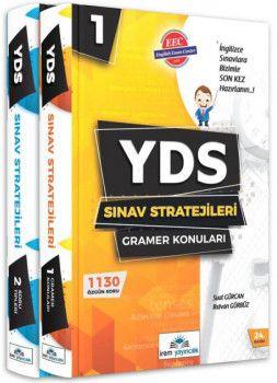 İrem Yayıncılık YDS Sınav Stratejileri Konu Anlatımlı 2 Kitap