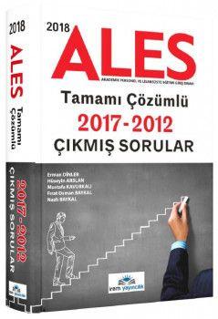 İrem Yayıncılık 2018 ALES Tamamı Çözümlü Çıkmış Sorular 2012 ? 2017