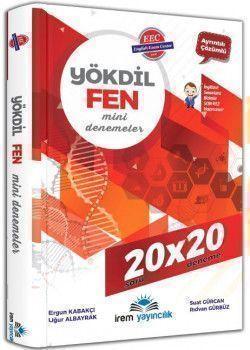 İrem Yayıncılık YÖKDİL Fen Bilimleri 20x20 Mini Deneme