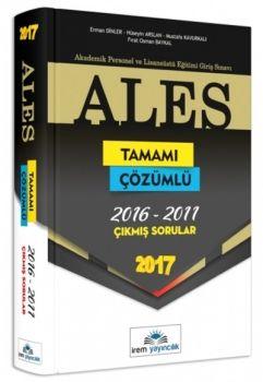 İrem Yayınları ALES 2017 Tamamı Çözümlü Çıkmış Sorular