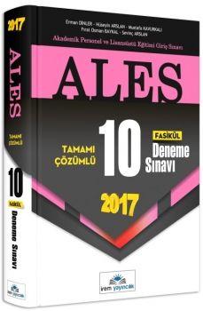 İrem Yayınları ALES 2017 Tamamı Çözümlü 10 Deneme