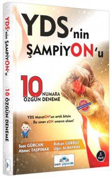 İrem Yayınları  YDS nin Şampiyonu 10 Özgün Deneme Sınavı