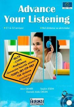 İrem Yayınları Advance Your Listening C1 ve C2 Seviyesi