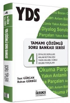 İrem Yayınları YDS Tamamı Çözümlü Soru Bankası Serisi 4