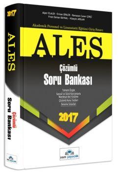 İrem Yayınları ALES 2017 Çözümlü Soru Bankası