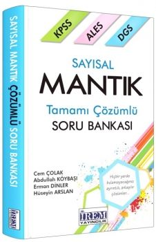 İrem Yayınları KPSS Sayısal Mantık Soru Bankası