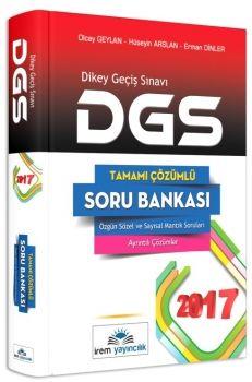 İrem Yayınları 2017 DGS Tamamı Çözümlü Soru Bankası