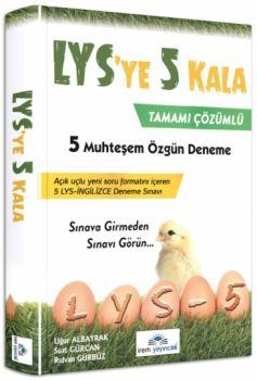 İrem Yayınları LYS ye 5 Kala Tamamı Çözümlü 5 Muhteşem Özgün Deneme Sınavı