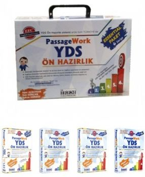İrem Yayınları YDS  Passagework Ön Hazırlık Essential Paket (1 2 3 4 5 6)
