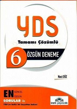 İrem Yayınları YDS 6 Özgün Deneme