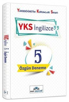 İrem Yayınları YKS Dil İngilizce 5 Özgün Deneme
