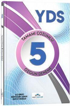İrem Yayınları YDS Tamamı Çözümlü 5 Özgün Deneme