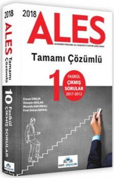 İrem Yayınları 2018 ALES 10 Fasikül Çıkmış Sorular