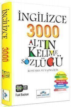 İrem Yayınları İngilizce 300 Altın Kelime Sözlüğü
