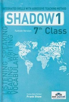 İrem Yayınları 7. Sınıf Shadow 1 Integrated Skills With Agressive Teaching Method