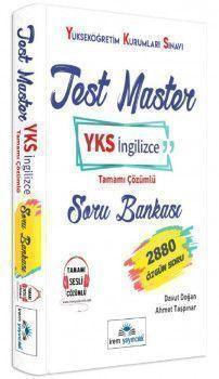 İrem Yayınları YKS İngilizce Test Master Tamamı Çözümlü Soru Bankası