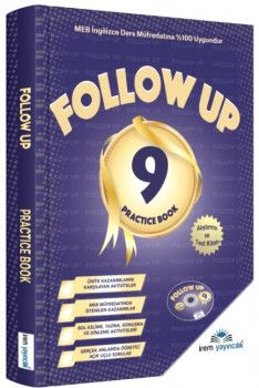 İrem Yayınları 9. Sınıf Follow Up İngilizce Test ve Alıştırma Kitabı