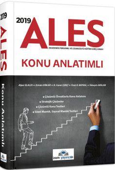 İrem Yayınları 2018 ALES Konu Anlatımlı