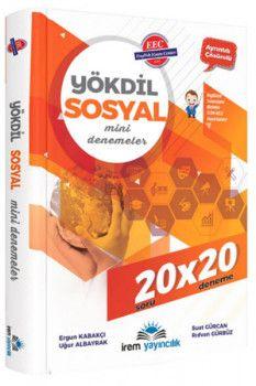 İrem Yayınları YÖKDİL Sosyal Mini Deneme 20X20